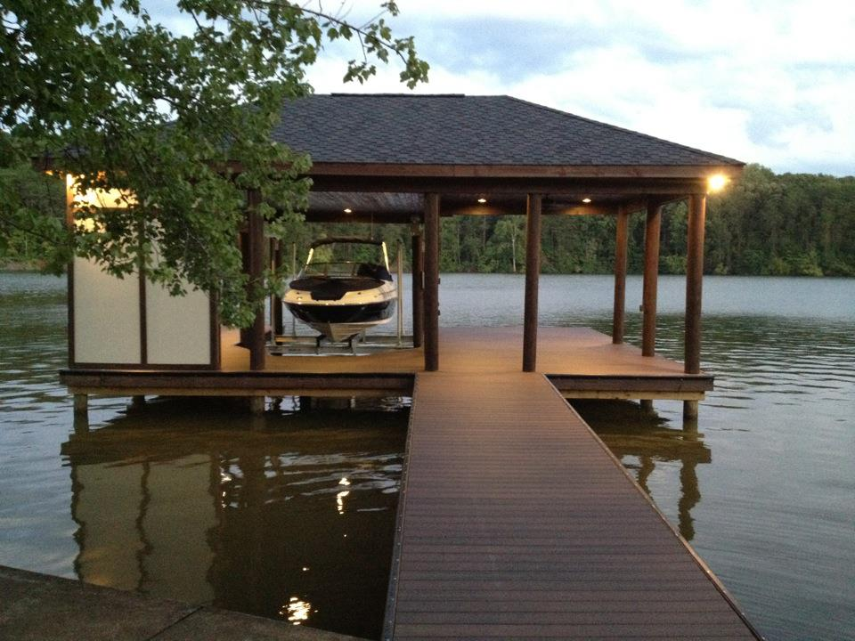 dock deck featured on diy network 39 s docked out